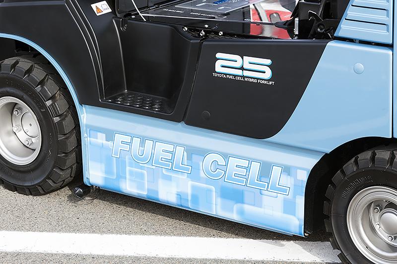 燃料電池車を示すロゴ