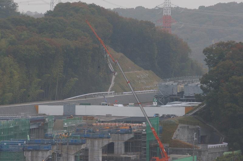 神戸JCTから高槻JCT方面
