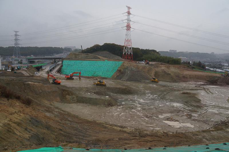 神戸JCTから中国自動車道の吉川方面