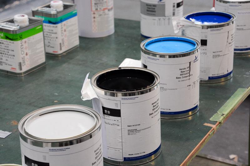 顔料の塗料