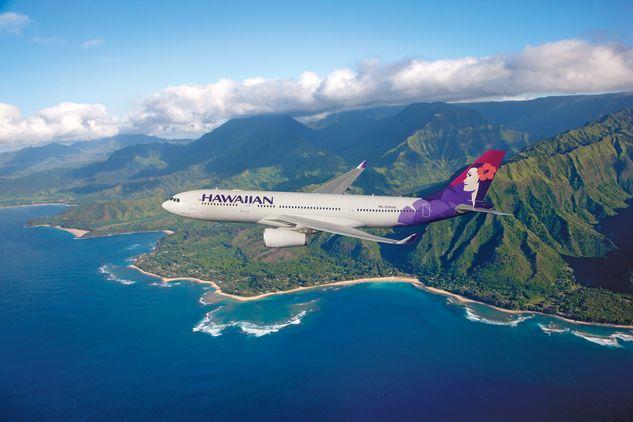 ハワイアン航空のエアバス A330-200型機(写真提供:ハワイアン航空)