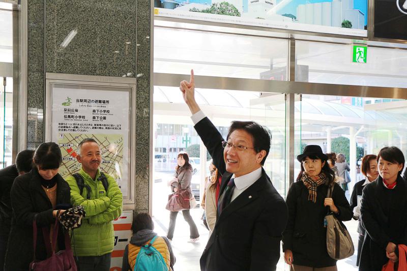 「静岡の魅力を多くの方にお伝えいただきたい」と、参加者への挨拶の中で田辺市長は力強く語った