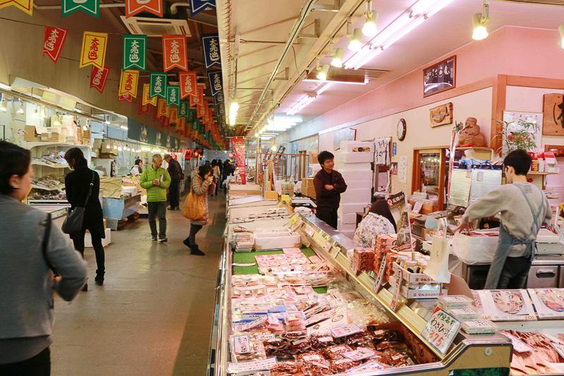 清水魚市場「河岸の市」