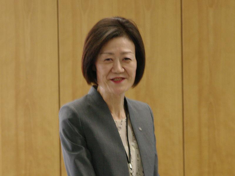 「JALなでしこラボ」の担当役員であるJALの大川順子取締役専務