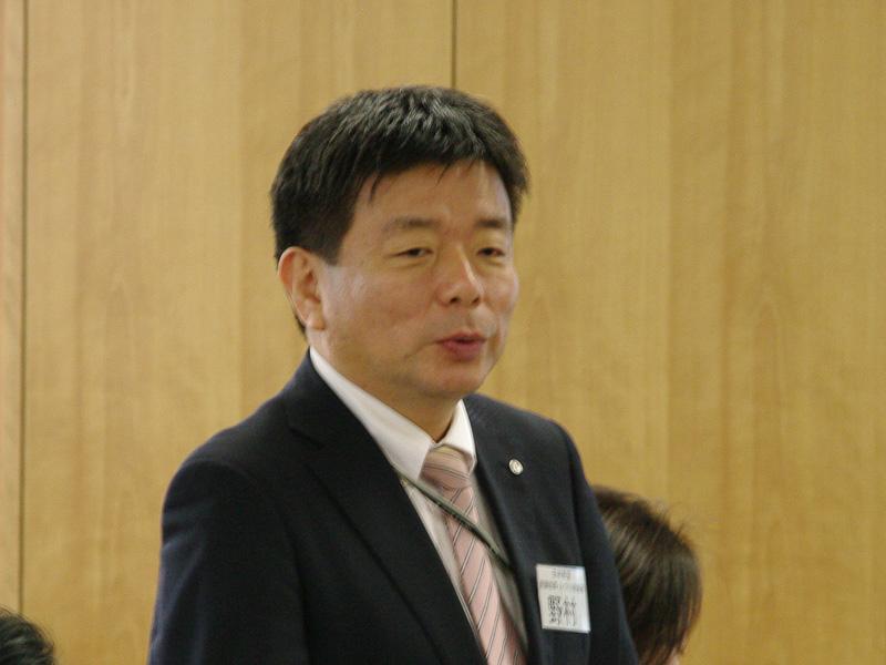 JAL 意識改革・人づくり推進部の野村直史部長