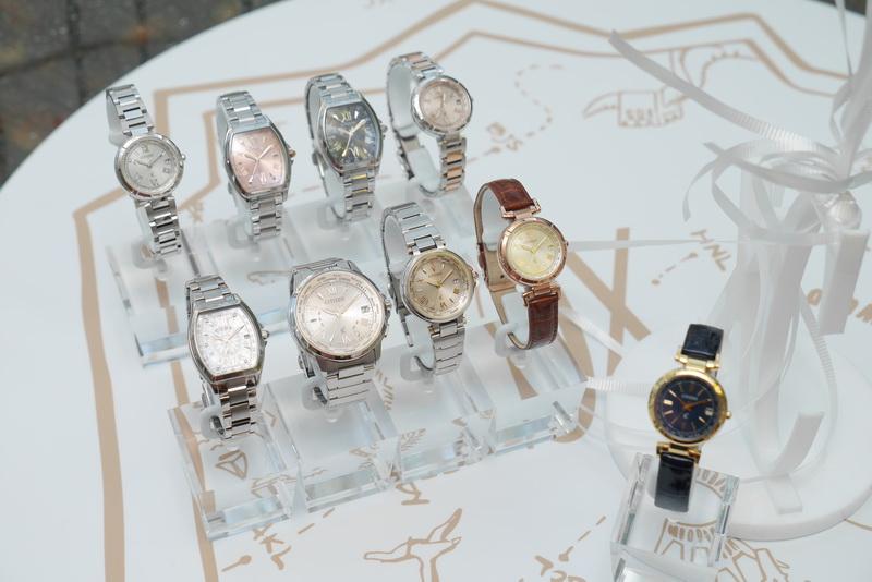 シチズンの女性向け腕時計「CITIZEN xC」シリーズ。2014年に国内の女性向け中価格帯腕時計市場で売上No.1を達成