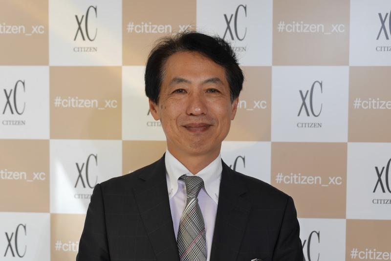 シチズン時計 シチズンブランド事業部 広報宣伝部 部長 山田幸男氏