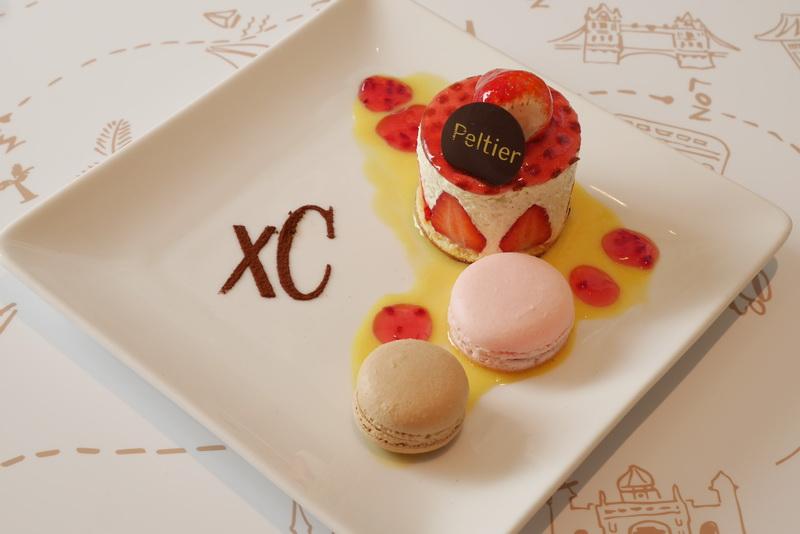 Peltierで人気のケーキやマカロンをセットにした「xCオリジナル ガトーデギュスタシオン」(1300円)