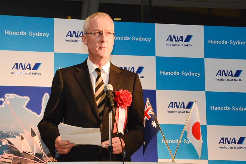 駐日オーストラリア大使  Bruce Miller(ブルース・ミラー)氏