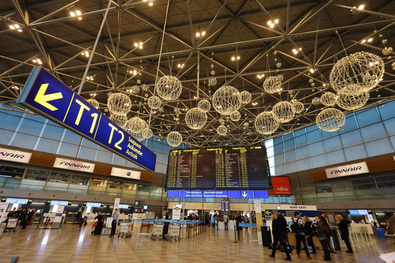 非常にシンプルな造りのヘルシンキ空港(ヘルシンキ・ヴァンター国際空港)は入国手続きや乗り継ぎも非常にシンプルで楽です