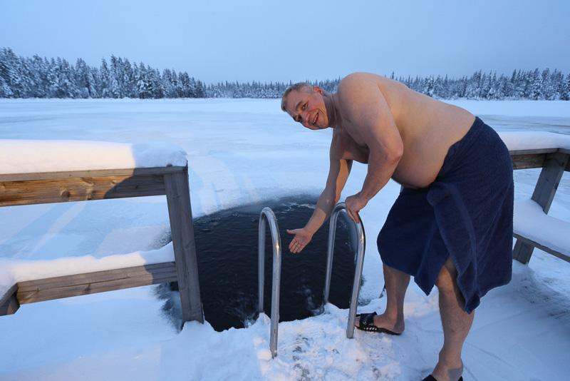 ちなみにフィンランドの人なら誰でも湖に飛び込むというわけではないらしいです