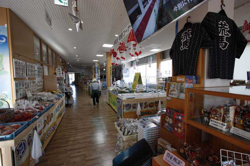 「アスクル」には青森の主要な土産物が揃う