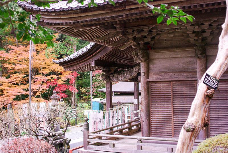 「半僧坊真殿」は本堂のすぐ近くにある