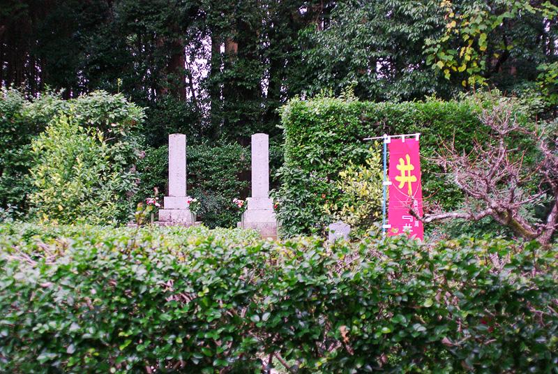 歴代当主やその家族の墓が並ぶ井伊家の墓所