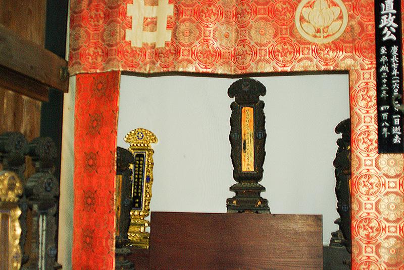 24代井伊直政の像は残念ながら貸し出し中とのことで今回は見られなかった