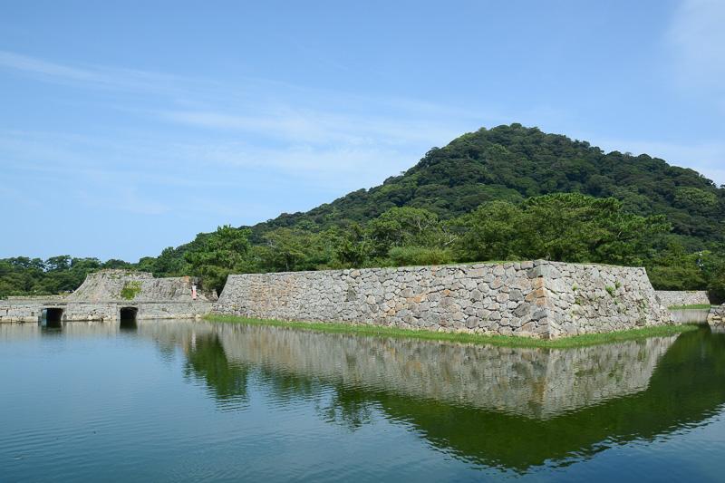城下町を見たあとは萩城跡へ