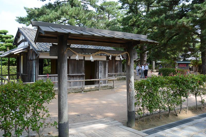 松下村塾入り口の門
