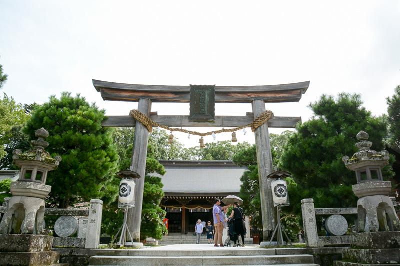 吉田松陰を祭った「松陰神社」