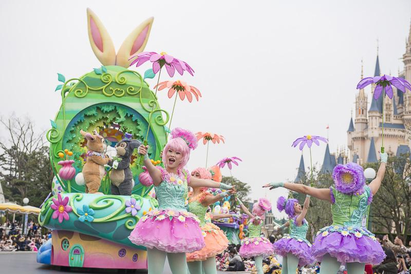 パレード「ヒッピティ・ホッピティ・スプリングタイム」の開催イメージ
