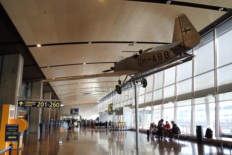 空港内はシンプルな造りで乗り継ぎはもちろんヘルシンキの街へ出るにも空港内を迷うことがありません。