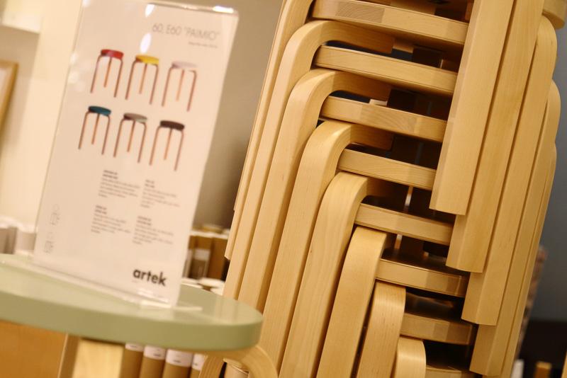温かみのある柔らかな曲線が持ち味の家具ブランド「アルテック(artek)」