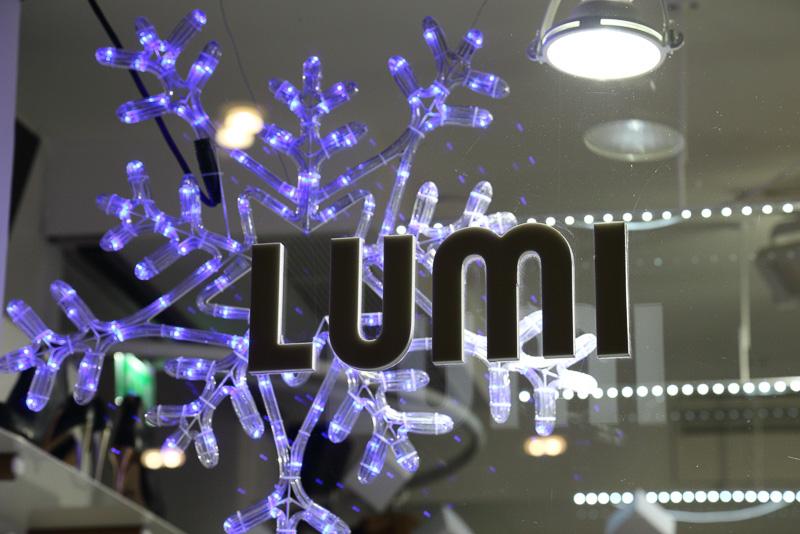 フィンランド語で雪を意味する「ルミ(LUMI)」