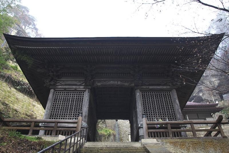 立石寺仁王門