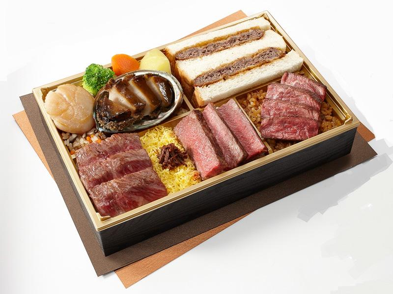 「ステーキハウス 牛の松阪」大いなる海と大地の贈り物