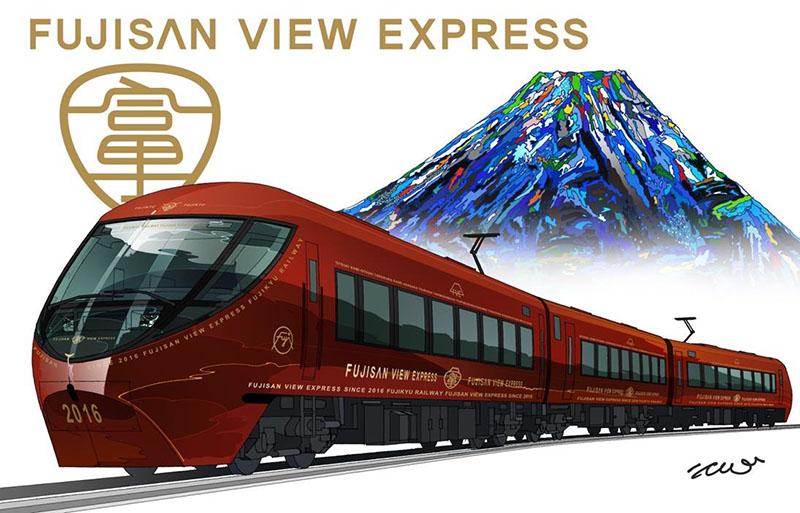 「富士山ビュー特急」の外観