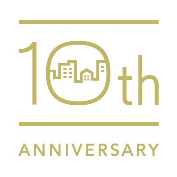 10周年記念のロゴマーク