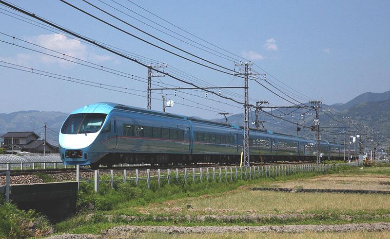 臨時特急ロマンスカー「メトロおさんぽ号」の運用に使用するロマンスカー・MSE(60000形)