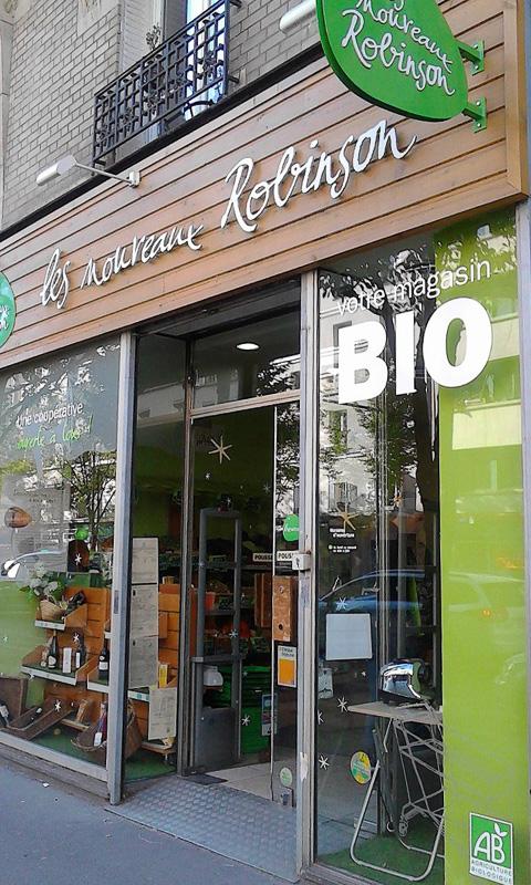 私が「Le Campanier」から注文した野菜を取りに行ったのは近所のBIOのお店。購入者にとって一番都合のよい引き取り所を選ぶことができます