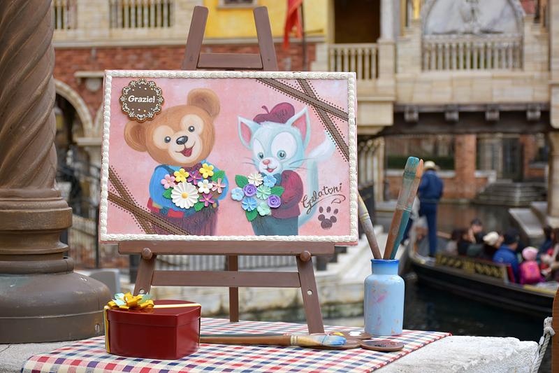 パラッツォ・カナルには、ジェラトーニが描いた絵が飾られている