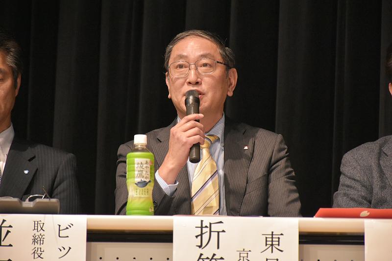東日観光 京浜ブロック長の折笠雅浩氏