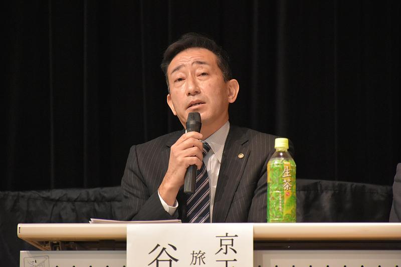 京王観光 旅行事業部 部長の谷川透氏