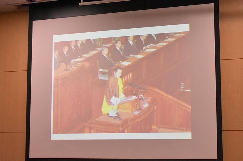 2011年に、ジグミ・ケサル国王が来日し国会にて「日本とブータンは兄弟」だと演説した