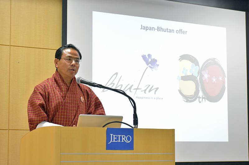 「日本と距離が離れているが、山の中に日本人の友だちがいるということを伝えたい」とノルブ・ワンチュク氏