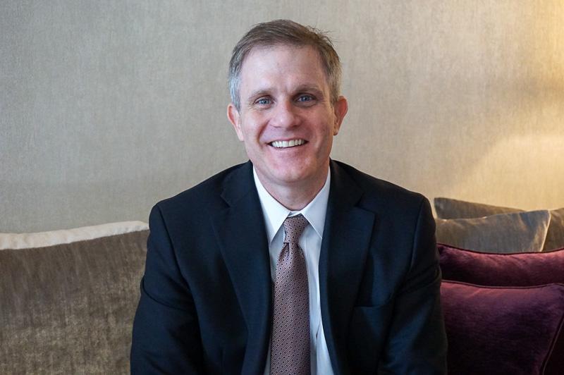 マリオット・インターナショナル アジア太平洋地域セール担当副社長 ジョン・トゥーミー氏