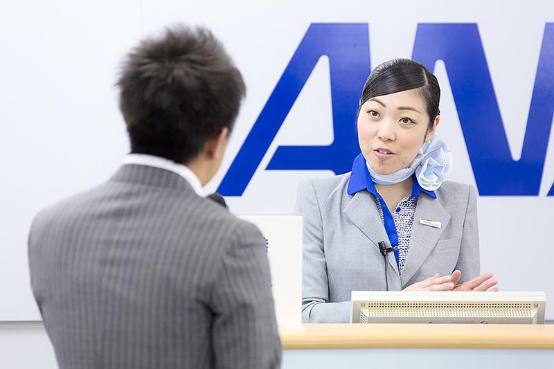前原千恵子さん(鹿児島空港)