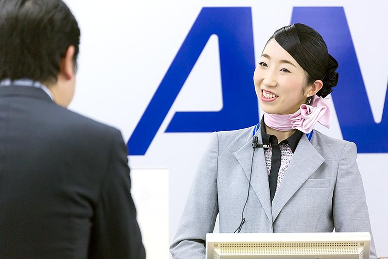 澤佳澄さん(鳥取空港)