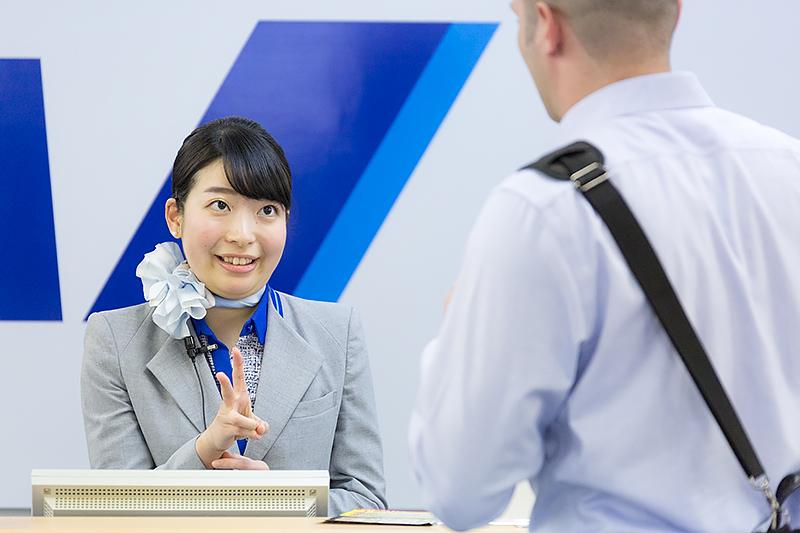 西森歩美さん(関西空港)