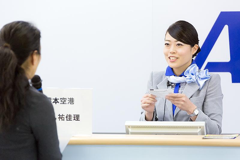 中嶋祐佳理さん(熊本空港)