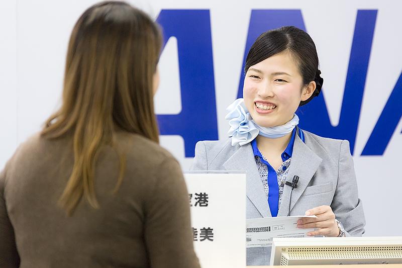 大西睦美さん(関西空港)