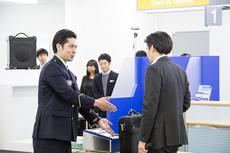 本山貢さん(伊丹空港)