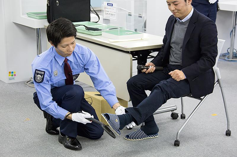 安藤洋平さん(鹿児島空港)