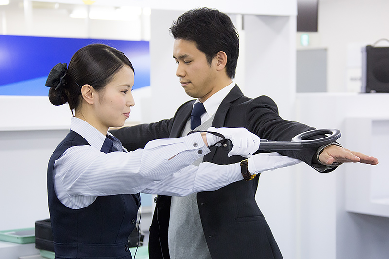 野田紗由莉さん(成田空港)