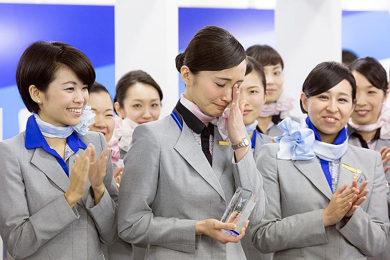 審査員特別賞の加藤友紀奈さん(羽田空港)