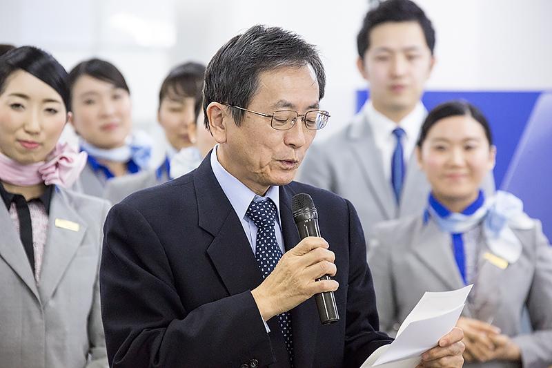 グランプリは代表取締役社長 篠辺修氏によって読み上げられた