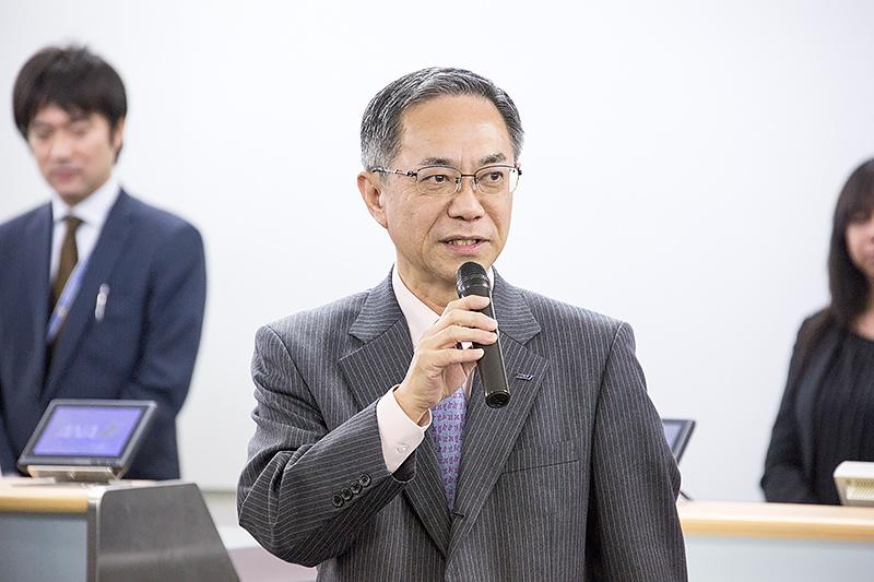 全日本空輸株式会社 代表取締役副社長 執行役員 内薗幸一氏