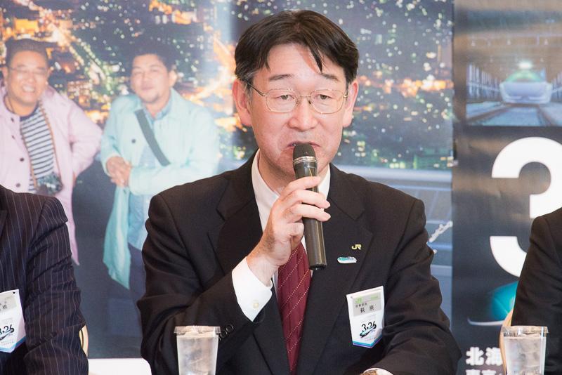 北海道旅客鉄道株式会社 鉄道事業本部 営業部長 萩原国彦氏